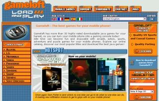 The Gameloft Website