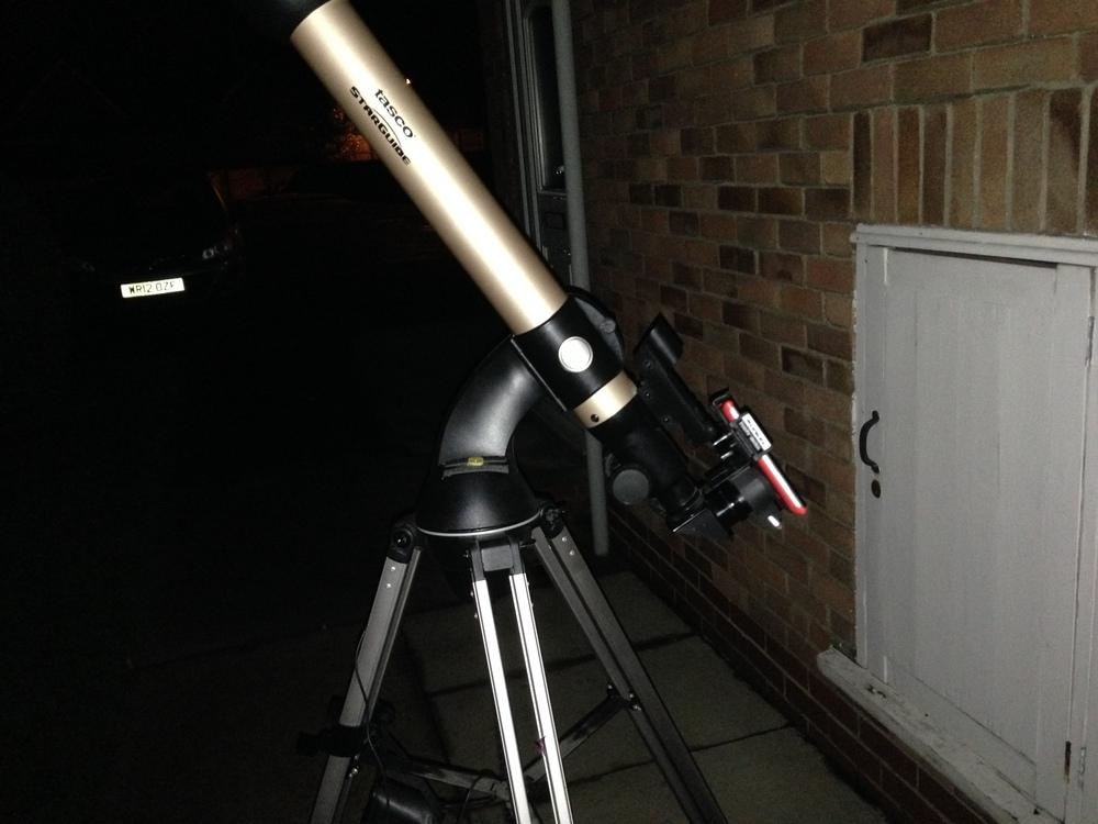Tasco Starguide 60 telescope