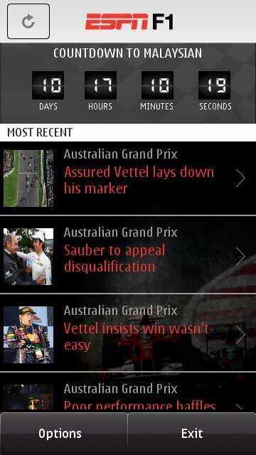 ESPN F1 review - All About Symbian