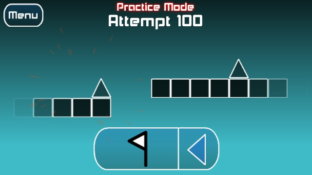 In actual fact the impossible game is a rhythm game where you are