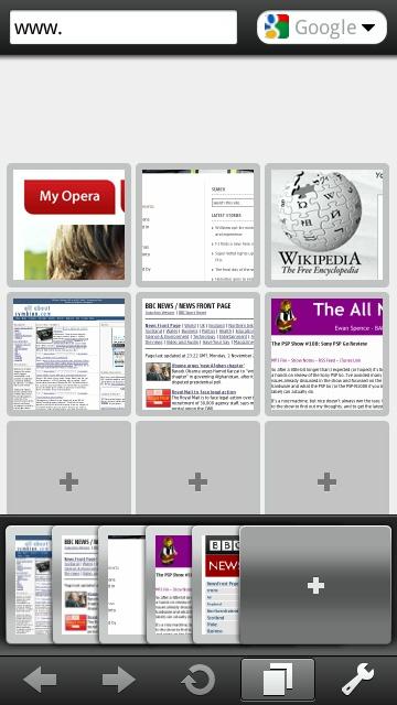 Opera release beta of Opera Mobile 10 for S60