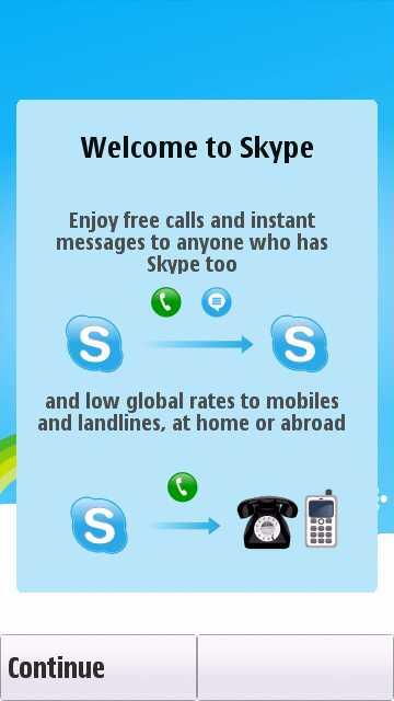Skype for Symbian 1.1