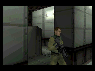 Metal Gear Solid Mobile N-Gage Screenshot