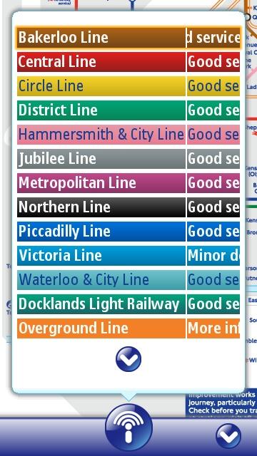 Tube Map Key